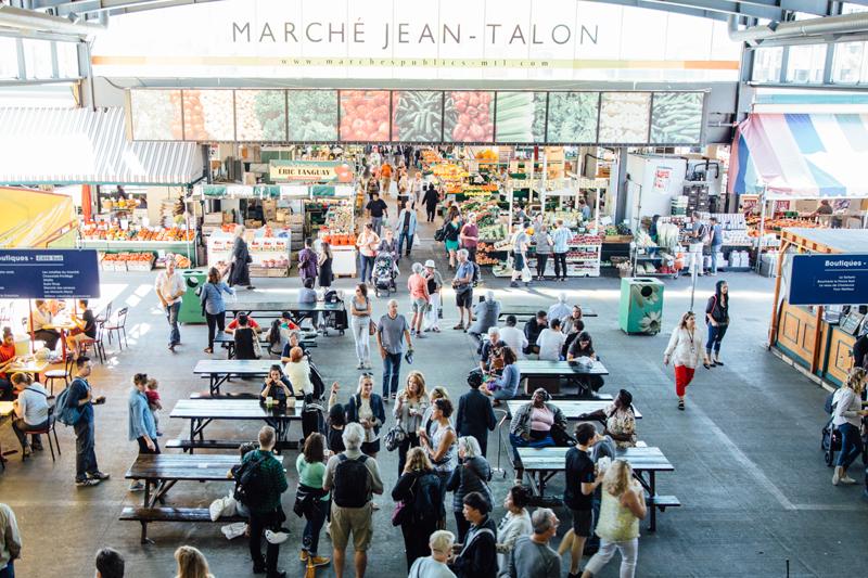 People enjoying a montreal food tour