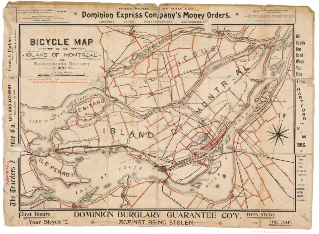 Delivery Bike Route Map