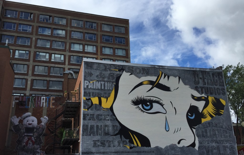 We ve got you covered montreal s street art scene spade for Air climatise mural montreal